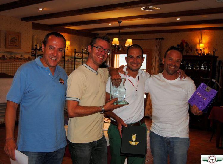 Primer clasificado: José Barreda y Diego Ciurana, con BMW 325iX.