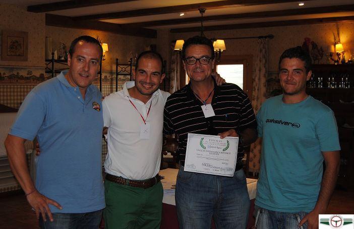 Alfonso Fígares Correduría de Seguros, patrocinador del rally, ha premiado al vehículo más antiguo, un MG A Roadster, del equipo  José Miguel Gago y Francisco Gago, con una póliza de responsabilidad civil para el mismo.