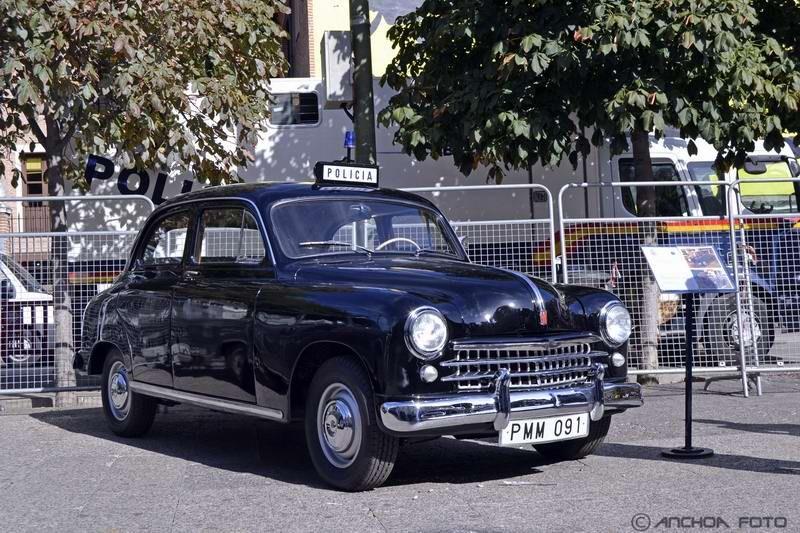 Fiat 1400 1953 (Policía).