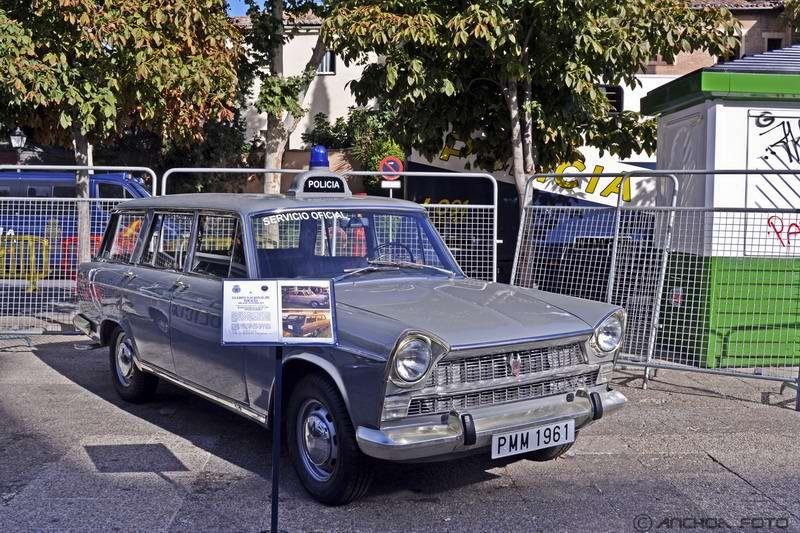 Seat 1400 C Familiar 1963 (Policía).