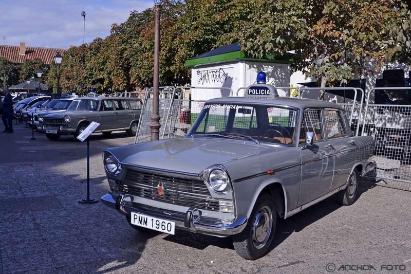 Seat 1500 1964 (Policía).
