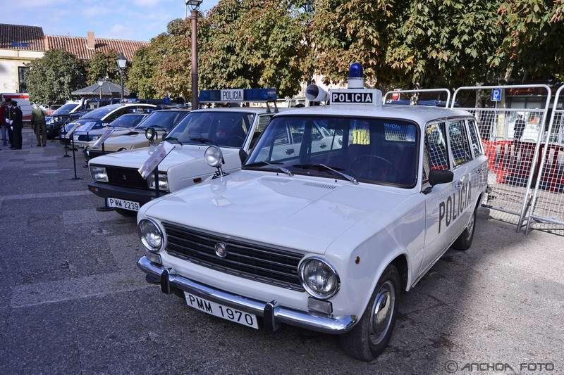 Seat 124 D Familiar 1973- (Policía).
