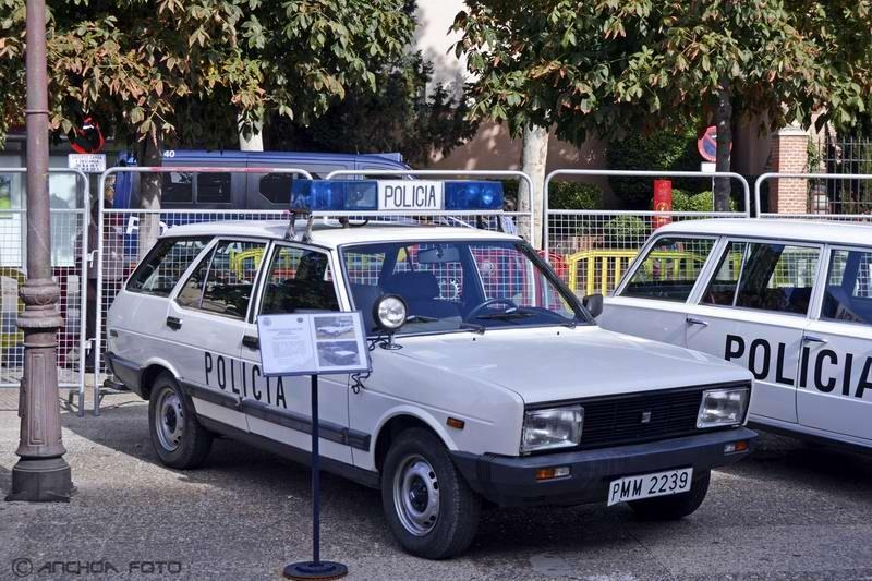 Seat 131 Panorama Super 1600 TC 1981 (Policia).