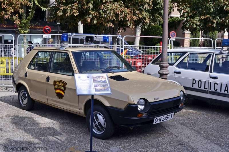 Seat Ritmo 65 CL 1981 (Policía).