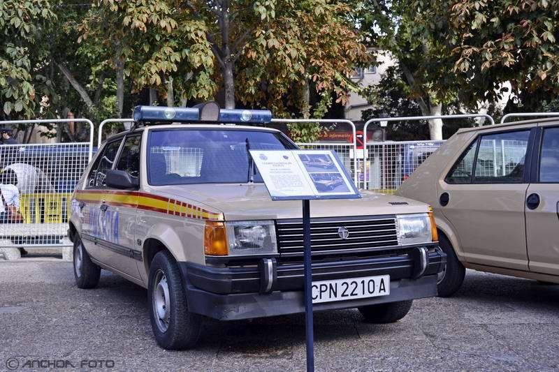 Talbot Horizon 1.6 GT 1985 (Policía).