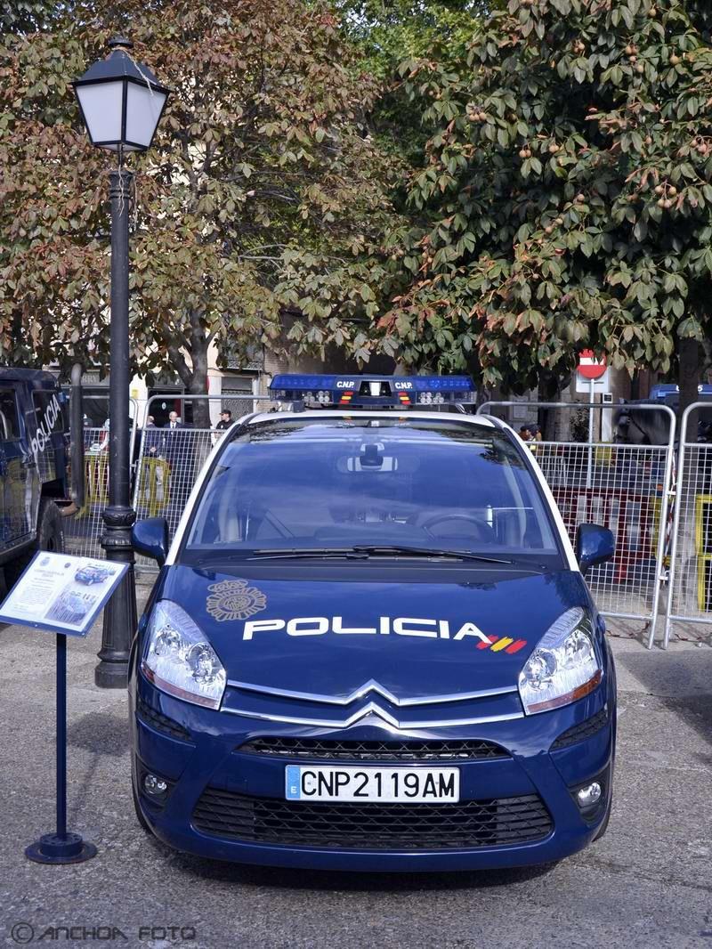 Citroen C4 Picasso 1.6 Hdi 2012 (Policia).