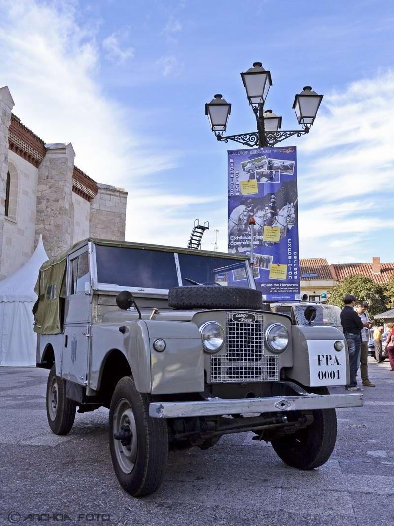 Land Rover S-1 86 1957 (Policía).