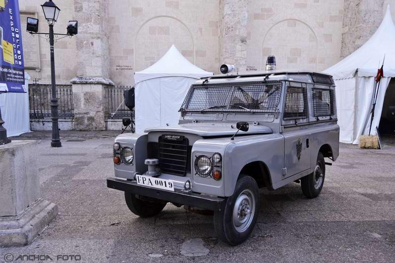 Land Rover S-3 88 Santana Especial 1975 (Policía).