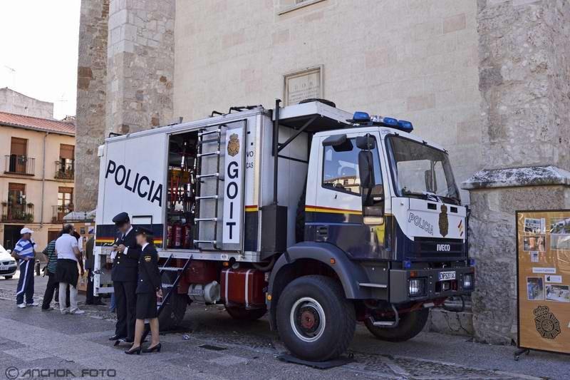 Iveco EuroCargo 95E21 1996 (Policía GOIT).