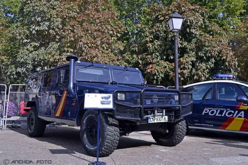 Uro Vamtac S-3 KT 5 2008 (Policía UIP).