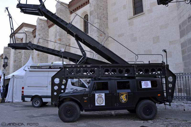 Uro Vamtac S-3 Rampa MARS 2008 (Policía GEO).