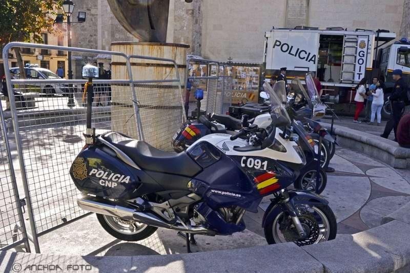 Honda NT700V Deauville 2006 (Policía).