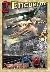 II ENCUENTRO AMIGOS DEL MOTOR CLÁSICO, AERÓDROMO DE REQUENA, 27-IV-13