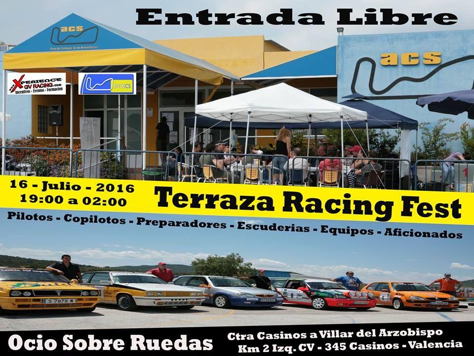 Encuentro Terraza Racing En Centro De Ocio Sobre Ruedas De
