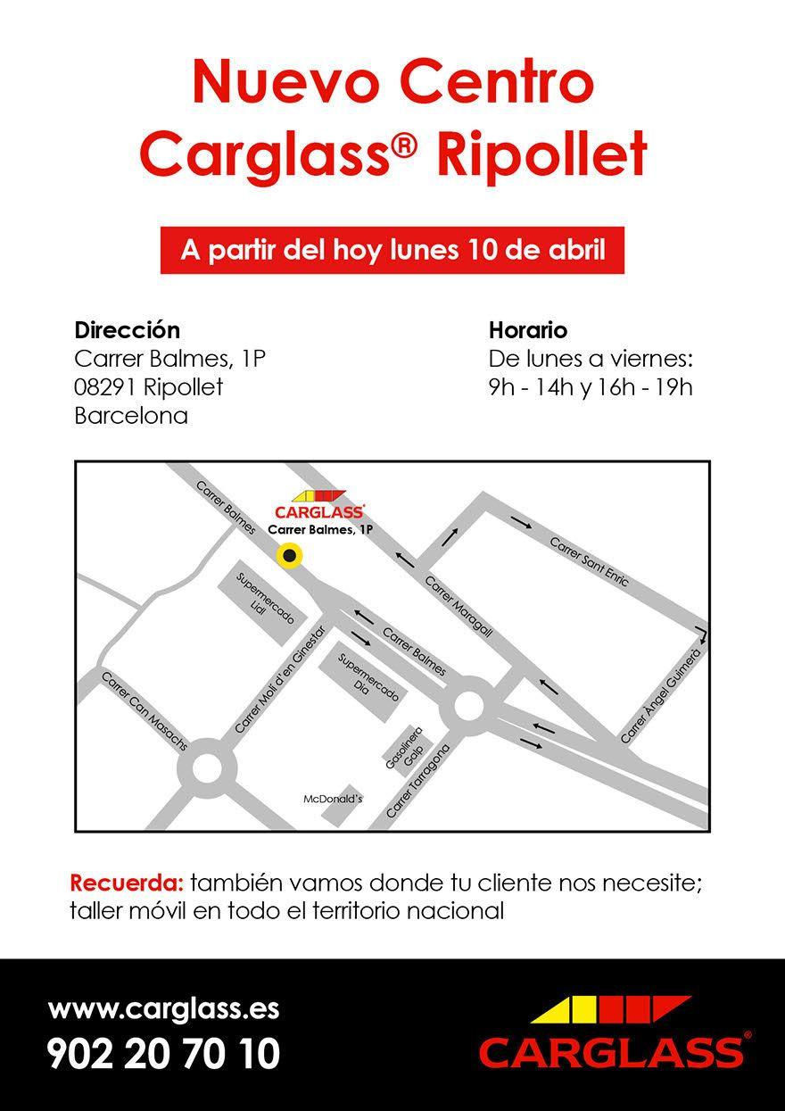 Horario carglass